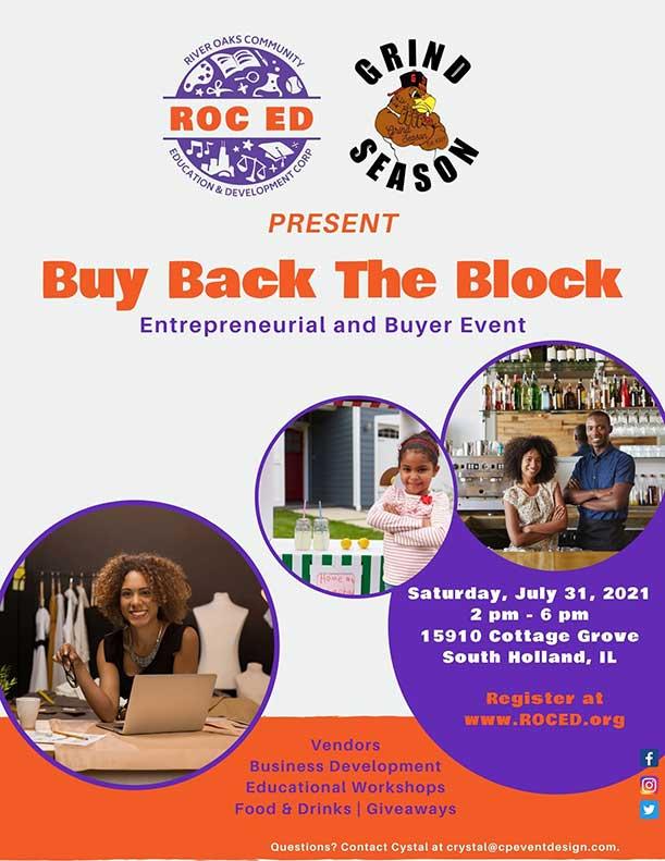 buy back the block flyer